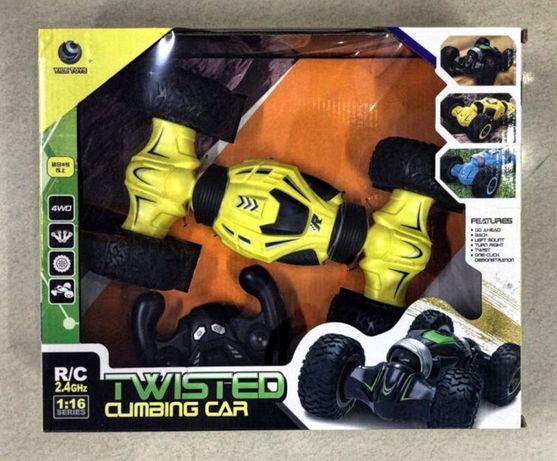 Машинка перевертыш на радиоуправлении Twist Climbing Car 1:16
