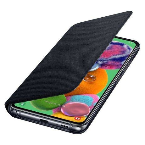 Husa originala Samsung Wallet Galaxy A90 5G SM-A908B si stylus