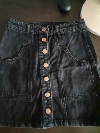 Юбка джинсовая stradivarius