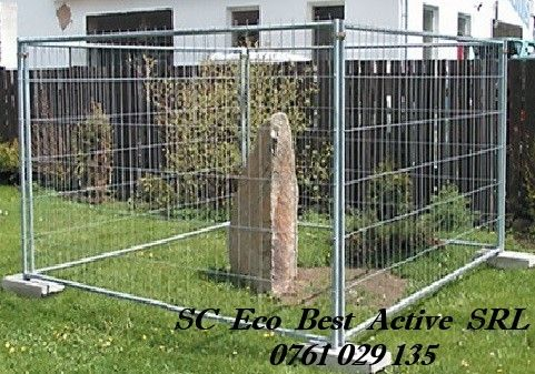 Inchirieri Garduri Mobile - Panou Mare (3,5x2m) - Judet Ilfov