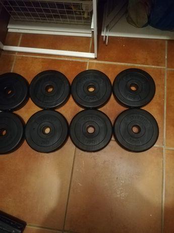 Discuri haltere și gantere 28 '