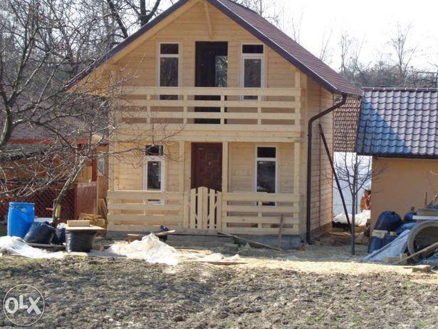 Realizam case din lemn izolate fonic și termic