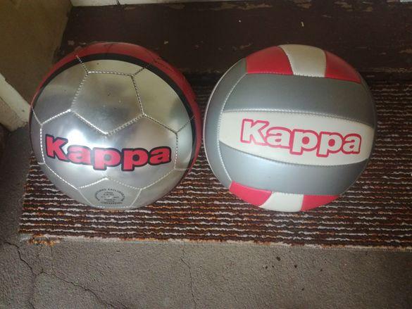 Нови Футболна и волейболна топки Kappa, футболна топка Nike