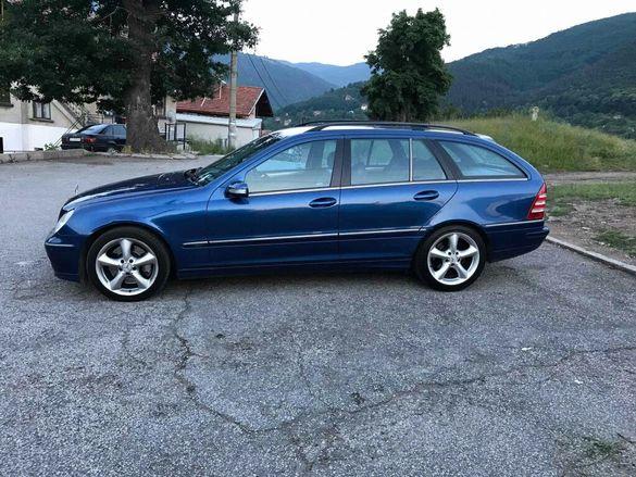 Mercedes C220CDI 150 к.с. W203 FACEILFT ръчка НА ЧАСТИ!