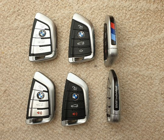Cheie originala Smart Proximity BMW seria G 434 MHz 4 butoane, NCF2951