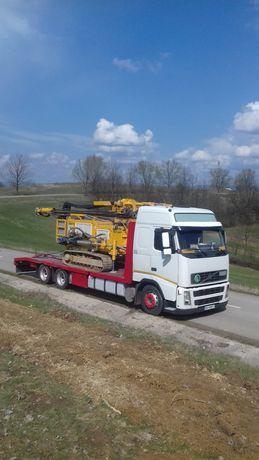 Transport utilaje agricole/utilaje/buldo/tractoare/nacele/excavatoare