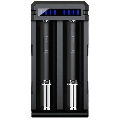 Бързо зарядно XTAR SC2 сС QC3.0 за 2 батерии 18650/21700/26650