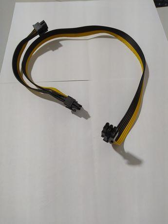 Cablu sursa modulara 6 pini la 2x6+2 pini