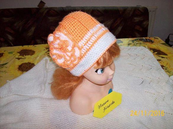 Детски плетени - Шапка, Шал-снуд