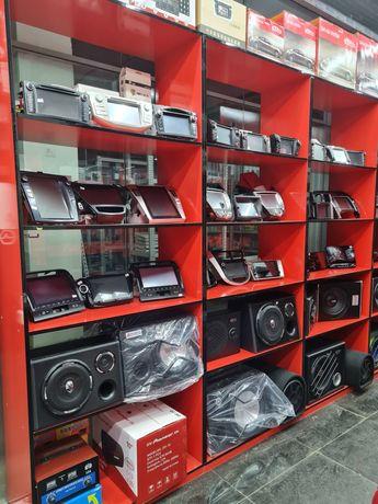 Автомагнитола на Андроиде/Android. Магнитафон. Toyota/Lexus/Mitsubishi