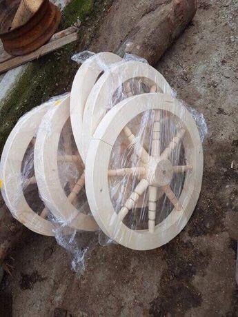 Roti din lemn - roata de lemn rustica pentru fantana
