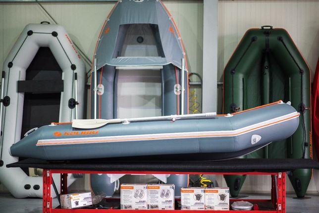 Barca Pneumatica kolibri KM-360D + podină de aluminiu