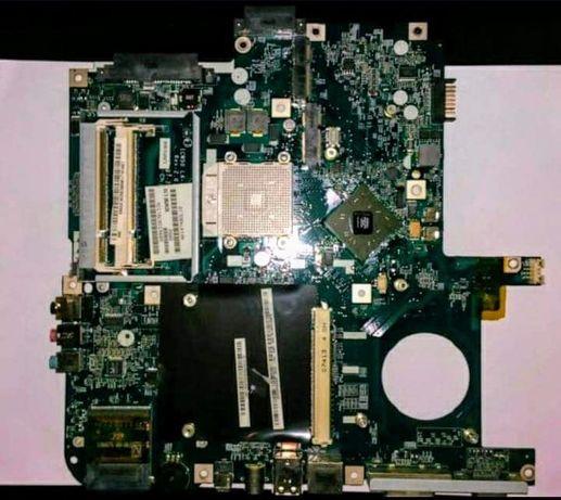 Placa de baza Laptop Acer Aspire 5520 G, defecta