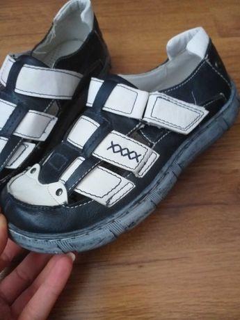 Детски обувки полуотворени-естествена кожа N 36 НОВИ