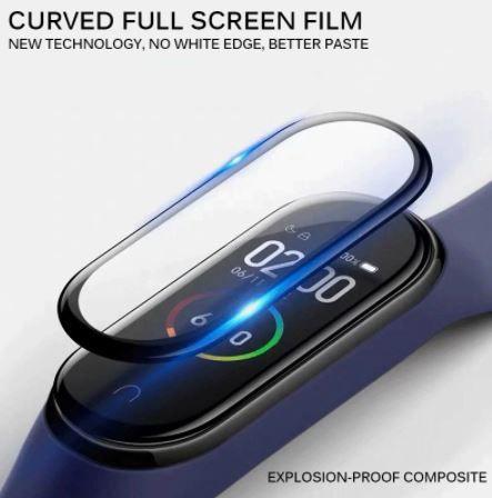 3D защитное стекло для Xiaomi Mi Band 4 2шт