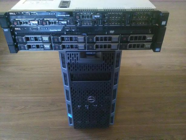 Server Dell Poweredge R520 1 Xeon E5-2440 16 GB DDR 3 2hdd -1Tb 7.2k
