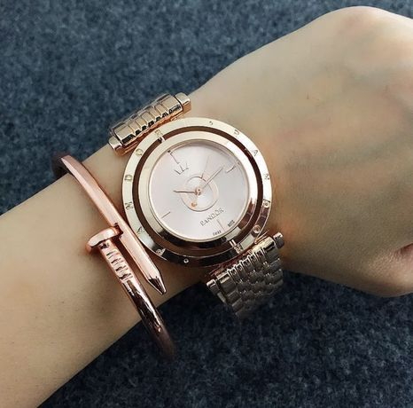 Ceas Pandora dama Rose gold superb cadran rotund