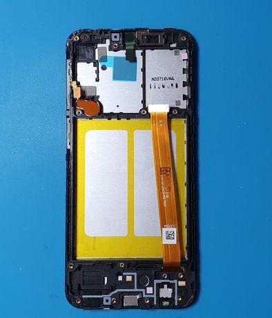 DISPLAY + RAMA Samsung A20E ( A202 .. )NOU/ ecran lcd sticla a20