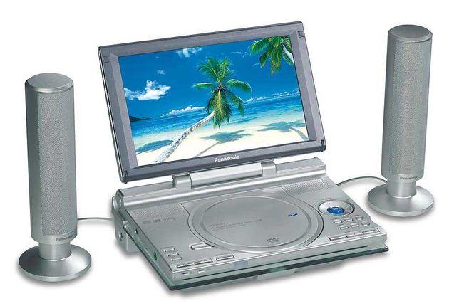 Портативный DVD-проигрыватель Panasonic DVD-LX9    made in JAPAN