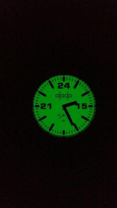 Vand ceas Alado 5ATM Fosforecent