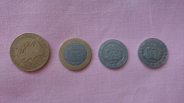 Vand/schimb monede Africa centrala