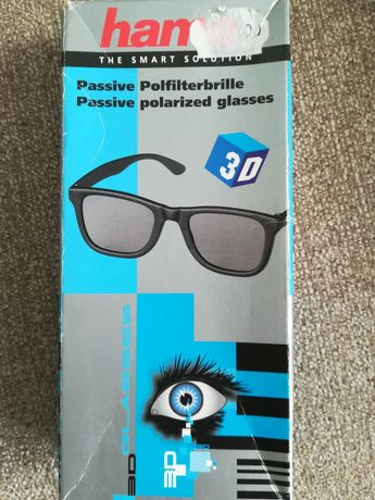 Ochelari 3D pasivi polarizați