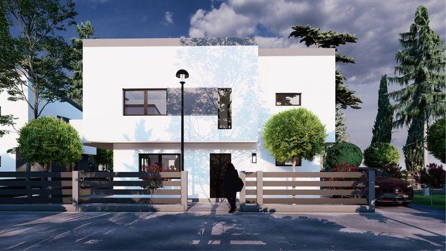 Vand casa individuala 400 mp gradina Floresti/tauti