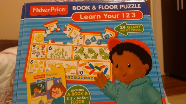 Puzzle Learn your 1 2 3 fisher price