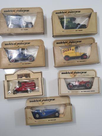 Lot 7 masinute de colectie Matchbox de epoca