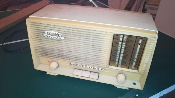 Антикварно радио с колекционерска стойност LOEWE OPTA Kobalt