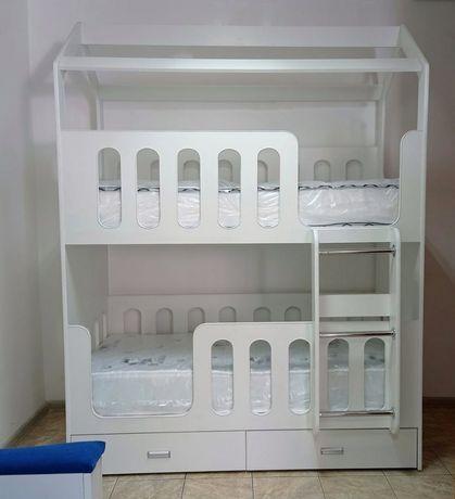 Двухьярусная 2х ярусная кровать домик мебель на заказ