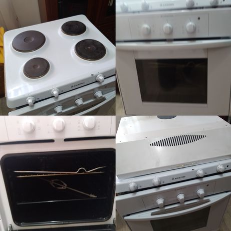 Электро плита и вытежка