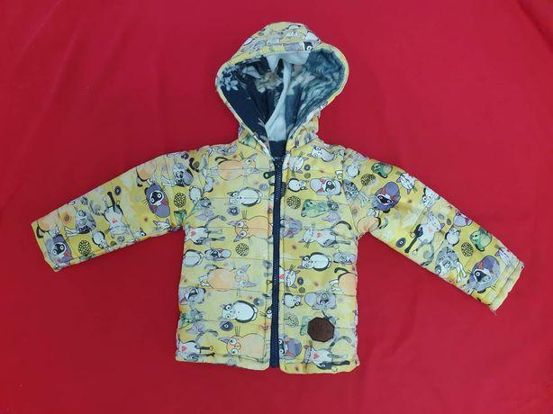 Курточка на флисе по скидке