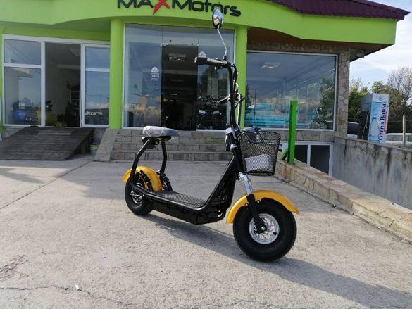 City Harley 1200W Електрически Скутер директен вносител MaXmotors