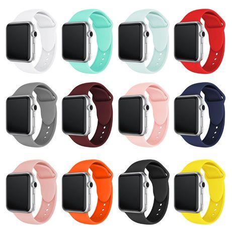 Силиконова каишка за Apple Watch 3, 4, 5 - 38mm/ 40mm/ 42мм/ 44мм