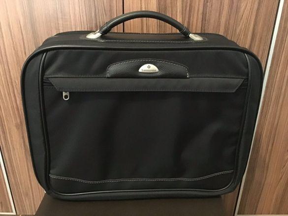 Луксозен бизнес куфар Samsonite Aviator II куфарче чанта за лаптоп
