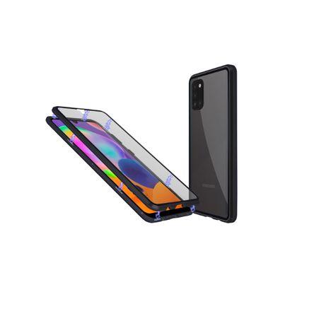 Магнитен кейс с две стъкла за Samsung A20/A21s/A30/A31/A50/A51/A70/A71