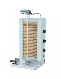 1.Дюнер машина електрическа с 4 горелки Въртящ се шиш 2 об/мин Керамич