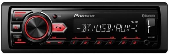 Pioneer +bluetooth -хендсфри музика за кола Mp3,usb,sd радио плеа USB