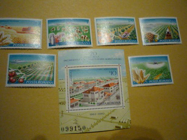 Timbre filatelice - Romania -agricultura 332