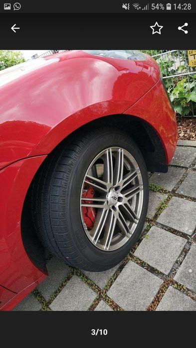 Jante aluminu Porsche Audi 19 zoll... Resita - imagine 1