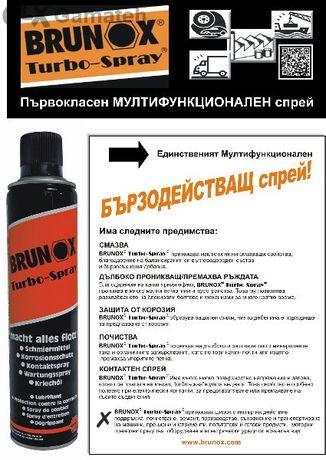 ПРОМОЦИЯ! -10 % Многофункционален бързодействащ спрей Brunox