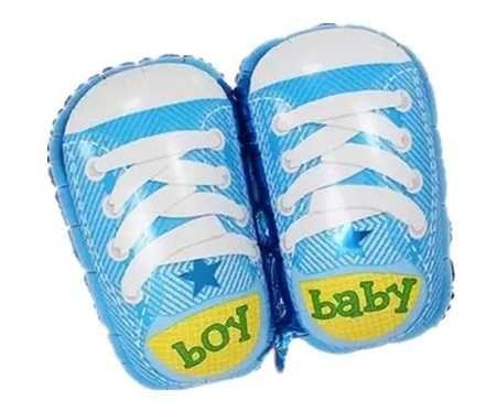 Балон с обувки за бебе момиче/момче