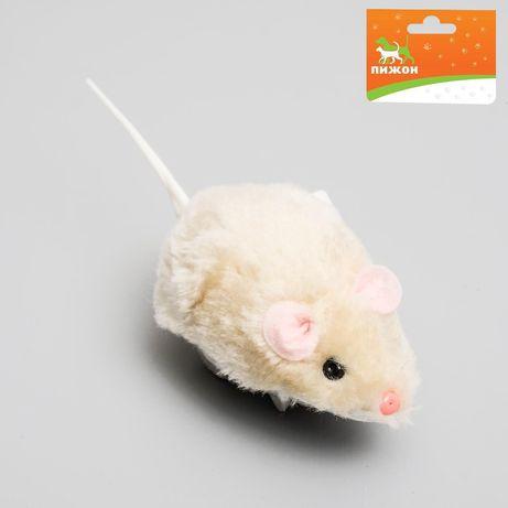 Мышь заводная для кошек и котят