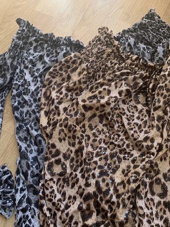 Блузки  в тигрово