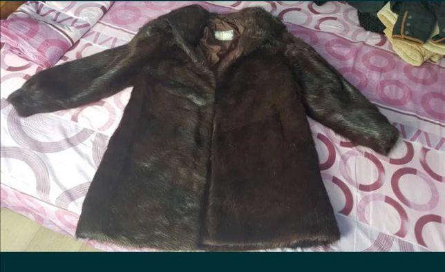 Vând haina blana naturala