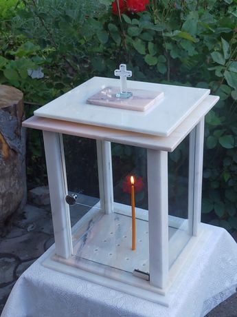 Felinar lumînari cimitir candelă granit marmura