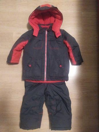 Фирменный зимний костюм  Mother Care на мальчика 2-3г на рост до 98см