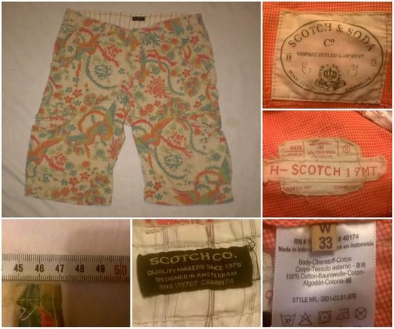 Pantaloni Scurti SCOTCH AND SODA (33) bermude casual sort sport BARBAT