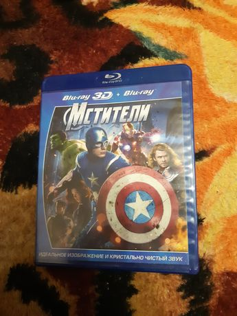 Blu-ray 3D диск Мстители